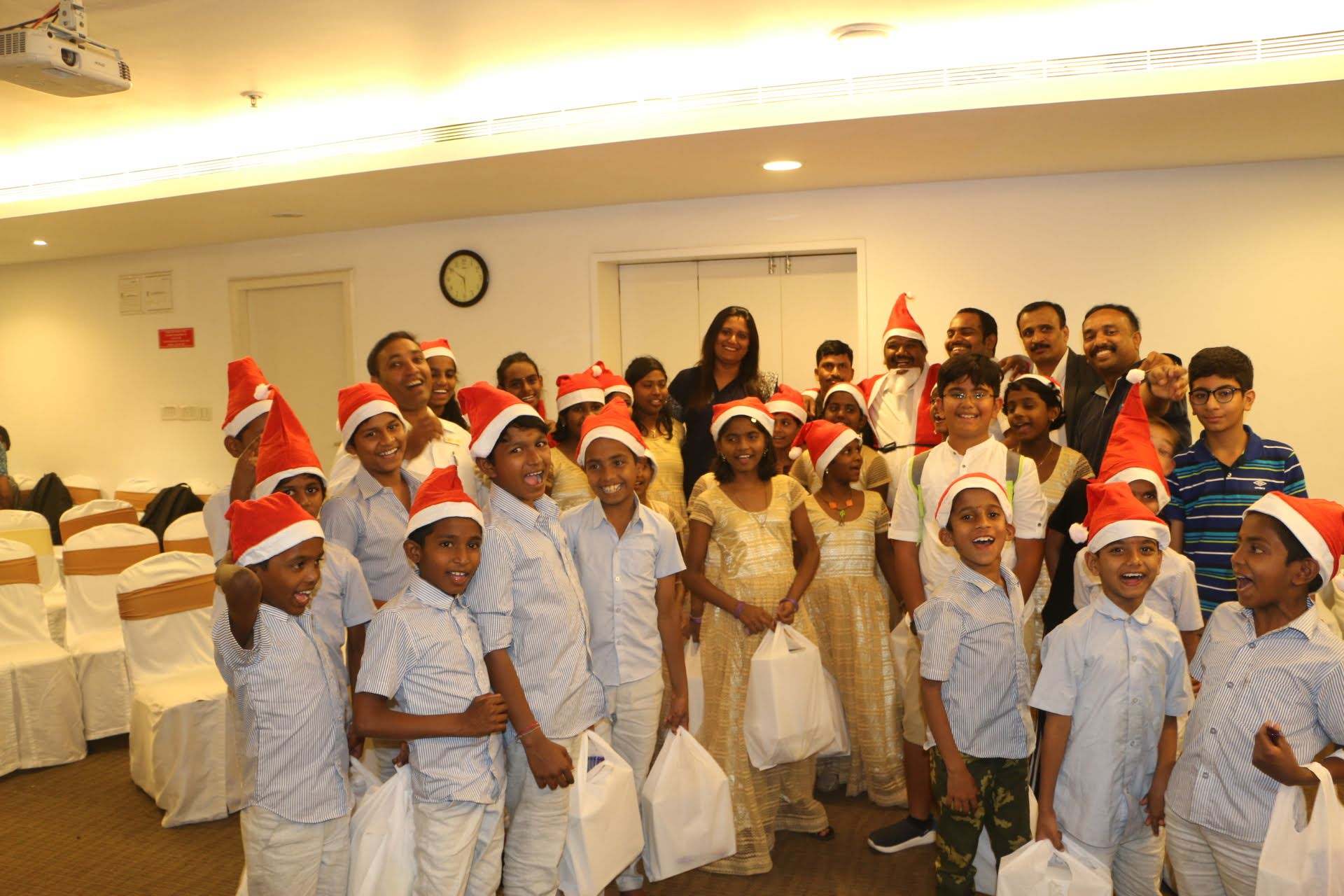 CSR event at Galaxy – Compassionate Christmas 2018